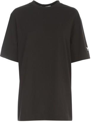 Y-3 Logo Print Crewneck T-Shirt