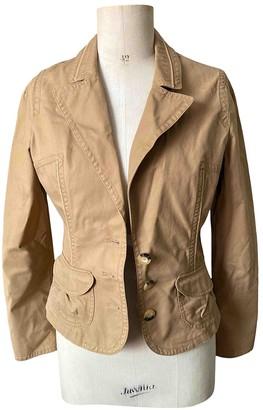 Essentiel Antwerp Beige Cotton Jackets