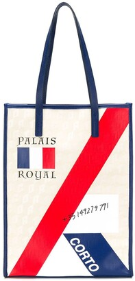Corto Moltedo Palais Royal shopper tote