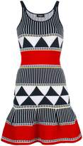 DSQUARED2 geometric panel knitted dress