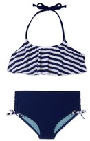Gossip Girl Girl's Ships Ahoy Two-Piece Swimsuit