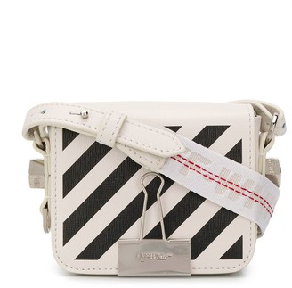 Off-White Diag Binder Clip shoulder bag