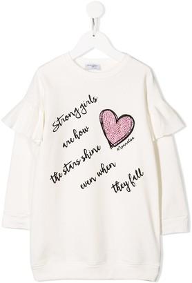 MonnaLisa Embellished Heart Dress