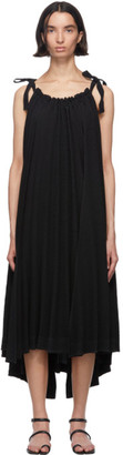 Issey Miyake Black Pleats Panorama Dress