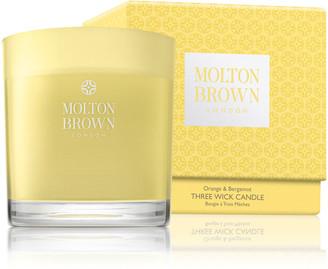 Molton Brown Orange & Bergamot Three Wick Candle, 16.9 oz.