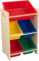 Kid Kraft 5 Plastic Bin Storage Unit