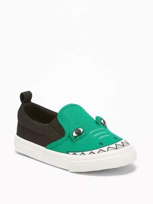 Old Navy Alligator Critter Slip-Ons for Toddler Boys