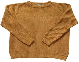 Base Range Yellow Cotton Knitwear for Women