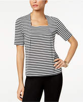 Kasper Striped Top