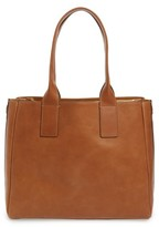 Frye Ilana Leather Tote - Brown