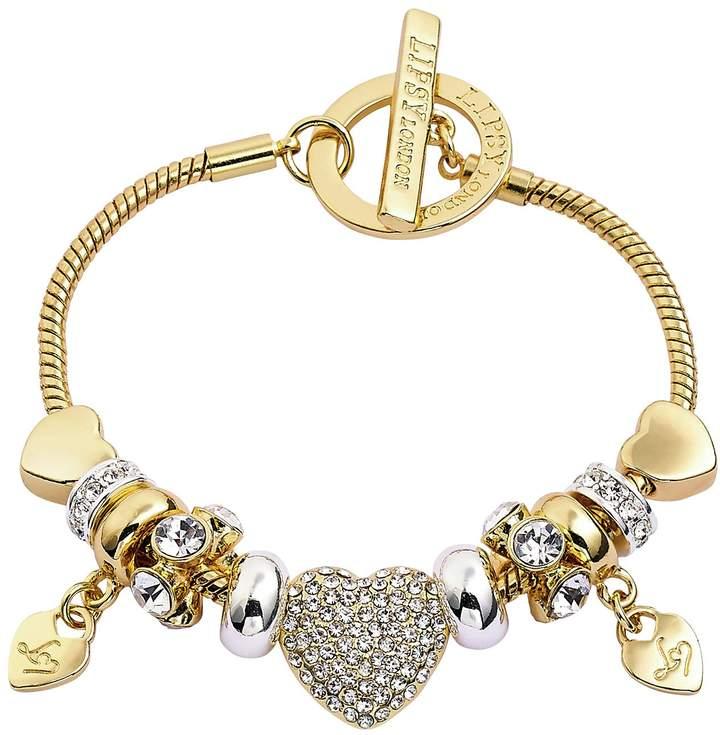 1cd4969378007 Two Tone Charm Bracelet