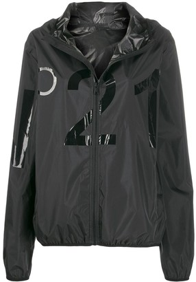 No.21 Logo Hooded Jacket