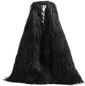 MM6 MAISON MARGIELA Faux Fur Tote Bag