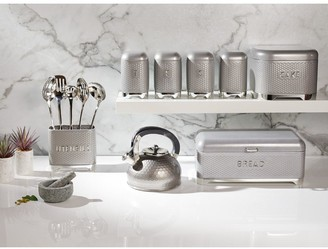 Kitchen Craft Lovello Tea, Coffee and Sugar Canisters -Shadow Grey