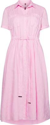 Tommy Hilfiger Dakota Linen Midi-Dress