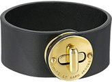 Marc by Marc Jacobs Leather Bracelets Small Disc Turnlock Leather Bracelet Bracelet