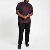 River Island Big and Tall black Dean straight leg jeans