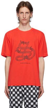 Stolen Girlfriends Club Red Barbwire T-Shirt