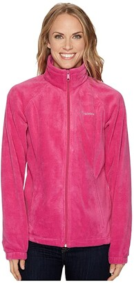 Columbia Benton Springstm Full Zip (Fuchsia) Women's Jacket