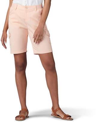 Lee Cargo Bermuda Womens Mid Rise 9 Bermuda Short