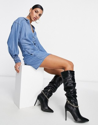 Free People Charlie shirt dress