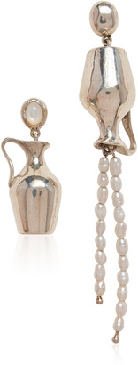 Pamela Love Vessel Sterling Silver Earrings