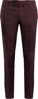 Brunello Cucinelli Slim-leg cotton-blend chino trousers