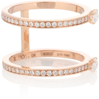 Repossi Harvest 18kt rose gold diamond ring