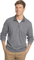 Izod Men's Classic-Fit Solid Heathered Performance Quarter-Zip Pullover