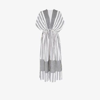 Lemlem Tigist striped cotton maxi dress