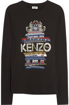 Kenzo Printed cotton-jersey top