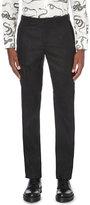 Alexander Mcqueen Slim-fit Tapered Wool Trousers
