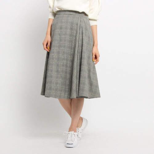 Dessin (デッサン) - Dessin(Ladies) グレンチェックフレアスカート