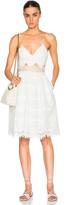 Jonathan Simkhai Scallop Tower Dress