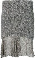 Thumbnail for your product : John Galliano Pre-Owned Tweed Effect Skirt