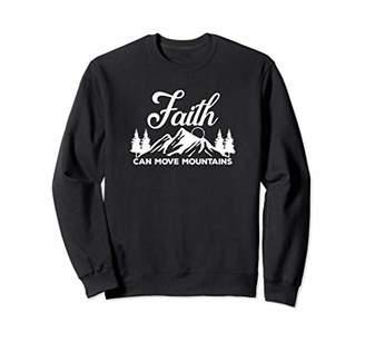 Möve Faith Can Mountains Outdoor Christian Jesus - Love God Sweatshirt