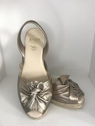 riA Shoes - 39 / Aprikot / Nubukleder
