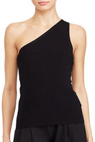 Lauren Ralph Lauren Petite One-Shoulder Sleeveless Top