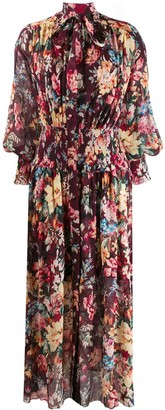 Zimmermann Floral Print Dress