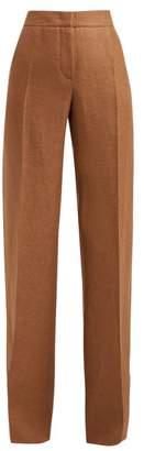Max Mara Patroni Trousers - Womens - Brown
