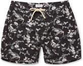 Saturdays NYC Colin Mid-Length Printed Swim Shorts