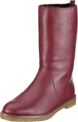 Flip*Flop taari Nappa Boots Womens Red Rot/Burgundy Size: 3.5 (36 EU)