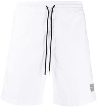 DEPARTMENT 5 Contrasting Drawstring Waist Deck Shorts