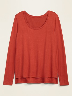 Old Navy Maternity Plush-Knit Double-Layer Nursing Top
