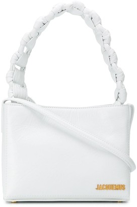 Jacquemus small Le Noeud tote bag