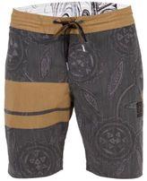 "Volcom Men's 3 Quarta Stripe Floral-Print 19"" Boardshorts"