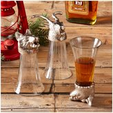 Twos Company Two's Company Breckenridge Animal Head Shooter Glasses Set of 3 - Multicolor