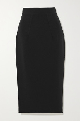 Safiyaa Hokuku Stretch-crepe Skirt - Black