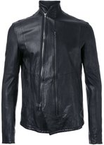 Julius leather zip jacket - men - Calf Leather - I