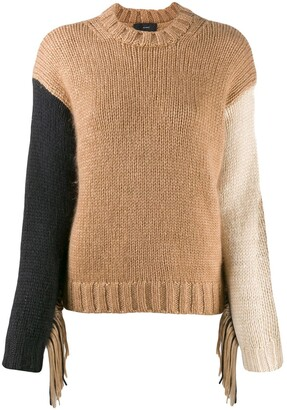 Alanui Fringed Knitted Jumper
